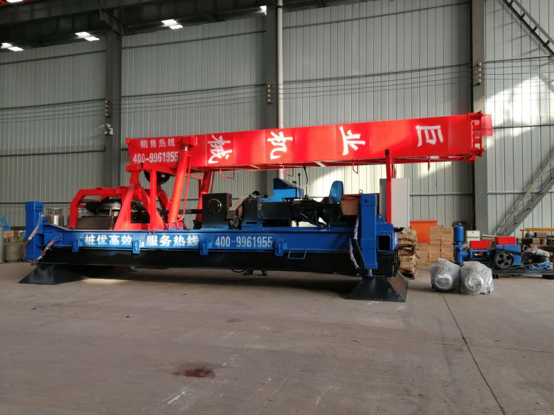 搅拌桩的专用设备 巨业机械 大直径水泥搅拌桩机