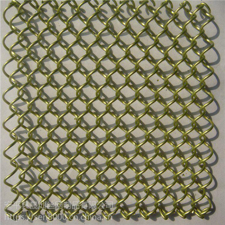 金属网帘 金属装饰网帘 金属装饰环网 幕墙金属装饰网
