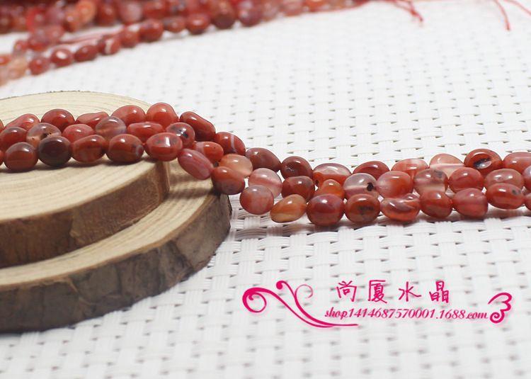 碎石手饰,珠子饰品特价南红配件手链随意形散服饰半成品玛瑙批diyT301图片