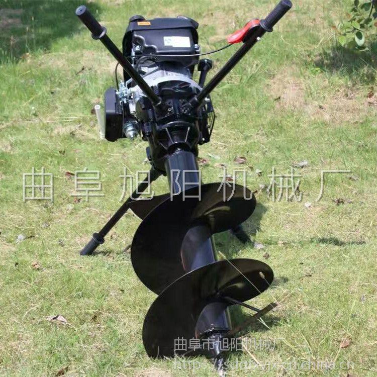 工厂直销8马力野外种植打洞机电线杆挖坑机农用螺旋式钻孔机