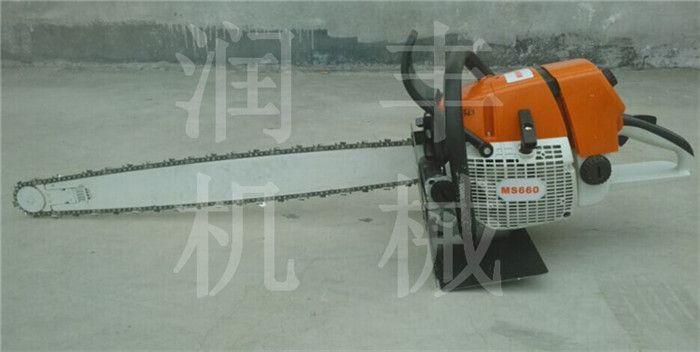 大功率挖树机 汽油链条便携式挖树机润丰