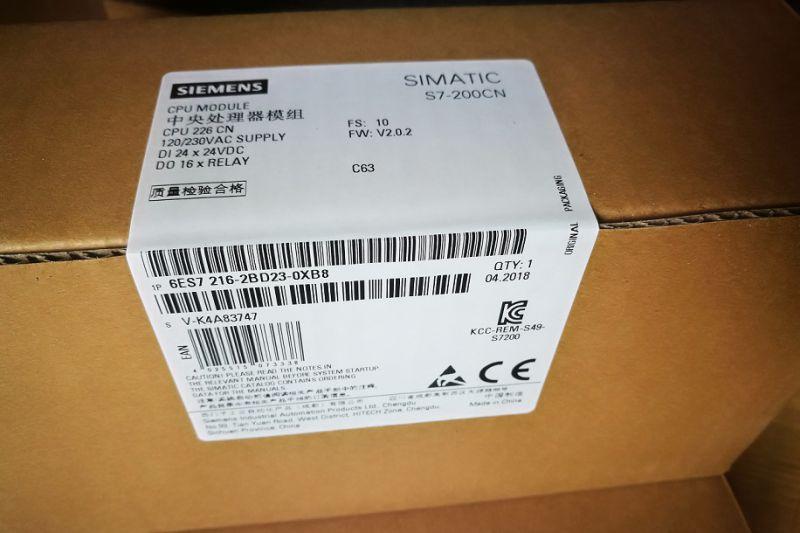 西门子6ES7216-2BD23-0XB8现货