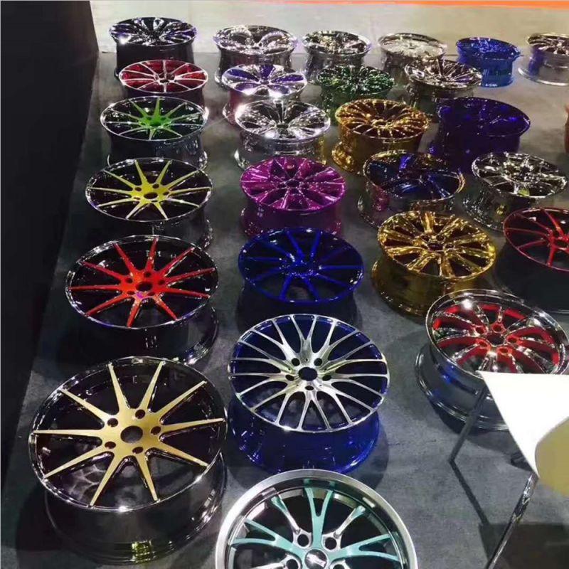 汽车改装轮毂高分子泡镀,优于电镀工艺