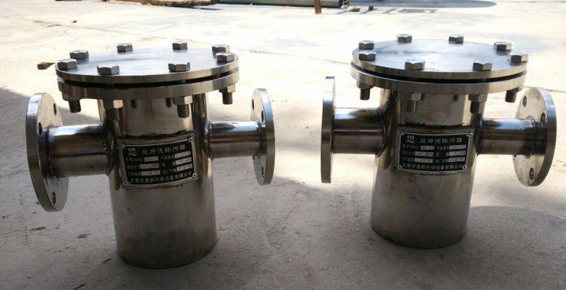 石油处理循环过滤设备DN50法兰接口304材质毛发杂质过滤器晨兴打造