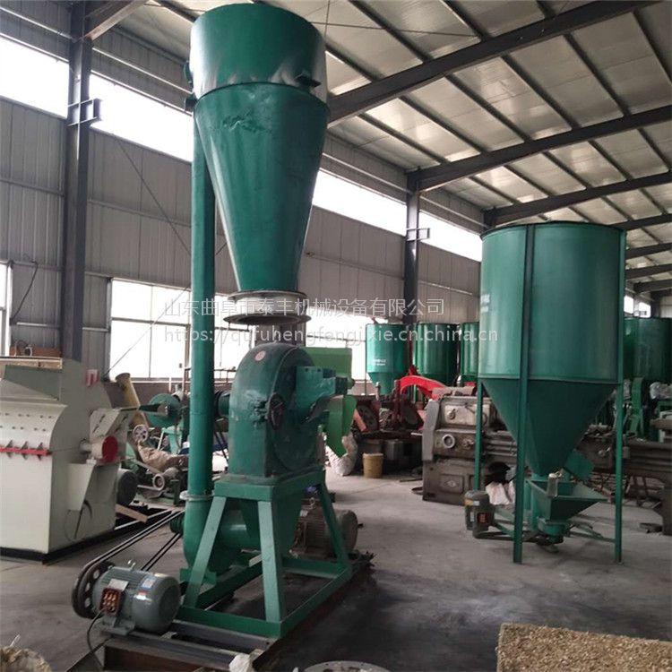 外贸专用化工块粉碎机 玉米豆粕齿盘粉碎机 超大型700磨面机