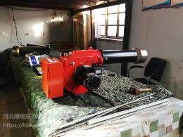 山西专业生产气压雾化甲醇燃油燃烧机,醇基燃料饭店燃料油,PRC控制液化助燃燃烧器高热效率醇基燃烧机在