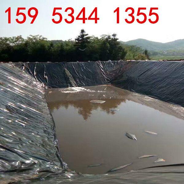 1.0mmHDPE防渗膜在鱼池防渗的做法