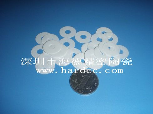 加工 氧化铝陶瓷垫片 陶瓷垫圈 来图来样