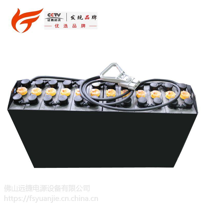 叉车蓄电池 蓄电池组 诺力叉车电池3PZS210-24V佛山远捷厂家直销