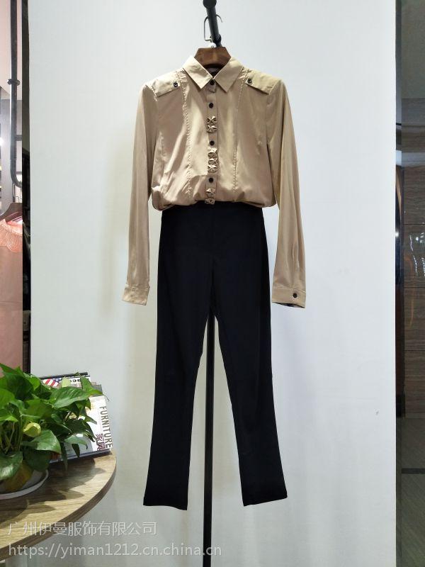 广州伊曼服饰长期供应哥弟品牌折扣女装货源