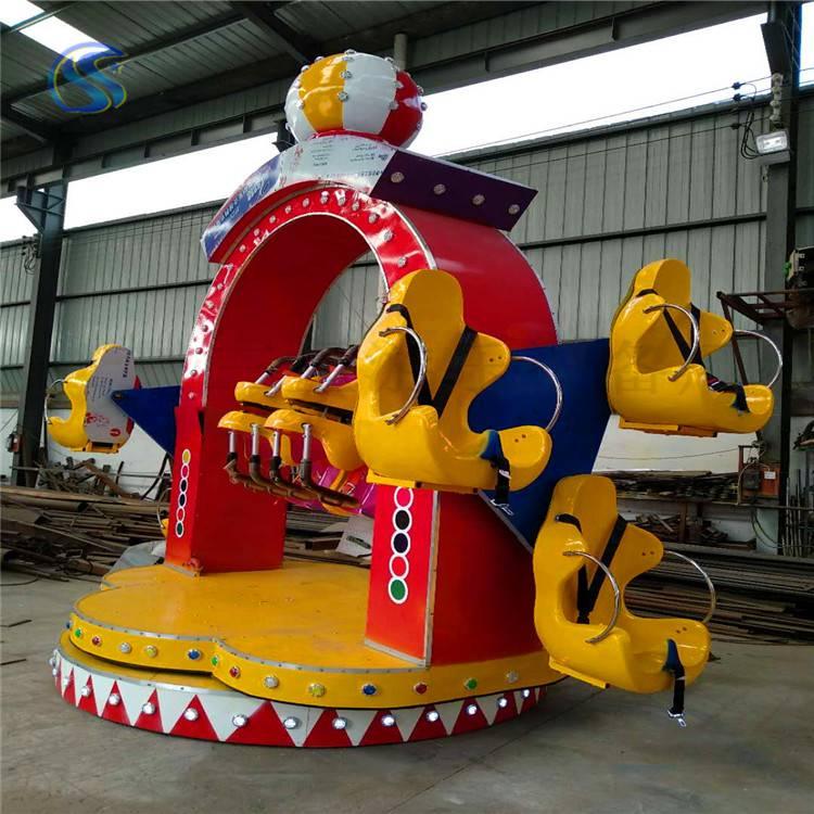 新款赚钱儿童娱乐设施欢乐旋转户外广场玩具三星定制产品