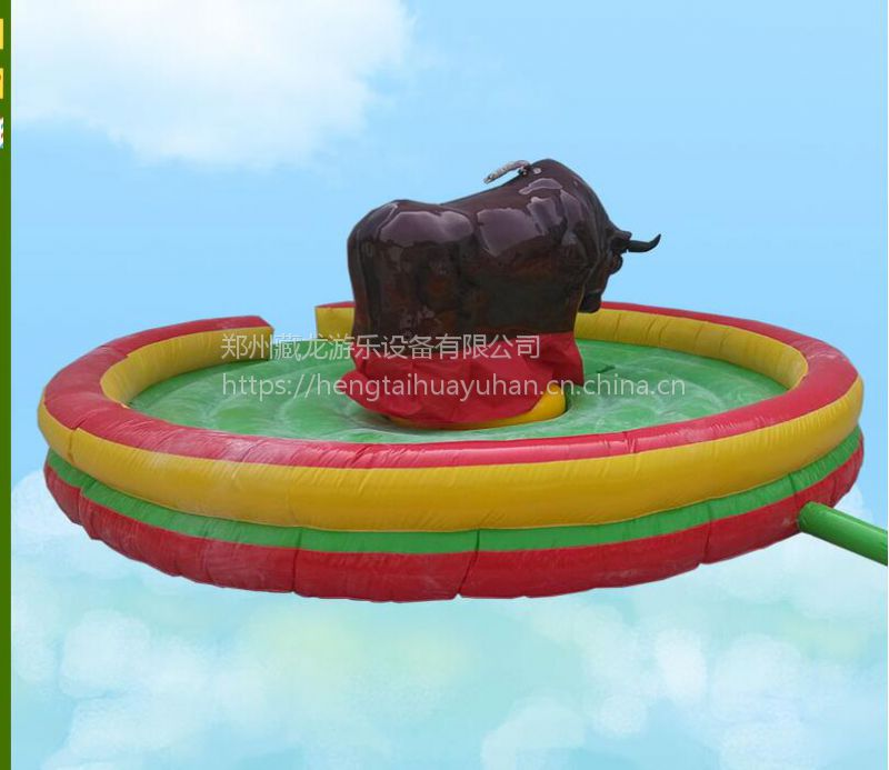 新款电动斗牛游乐设备 欢乐西班牙斗牛玩 广场公园刺激斗牛厂家直销