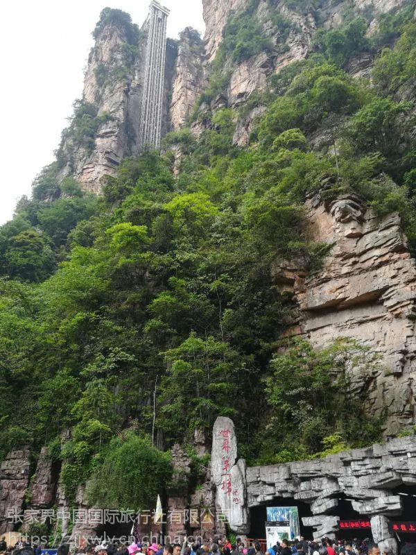 张家界国家森林公园+天门山+玻璃栈道3天2晚游多少钱
