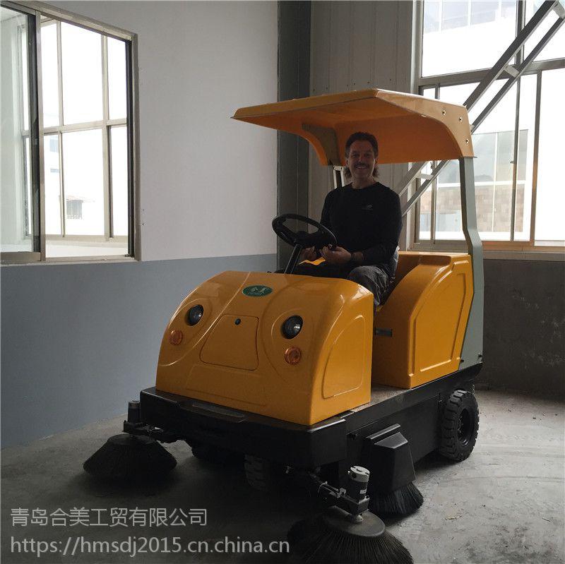青岛电动全自动清扫车价格HM1850