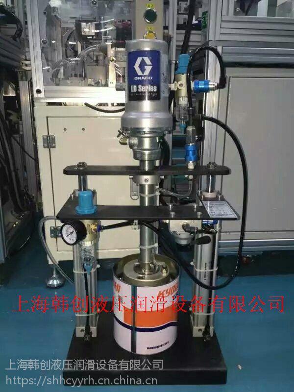 球头旋转涂油加脂机GRACO,油封定量油脂机,塑料齿轮自动涂油机