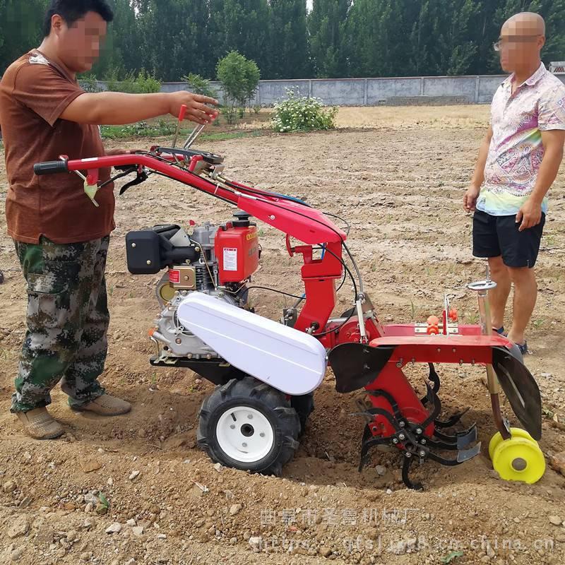 12马力田园管理机 多功能开沟培土机 圣鲁牌