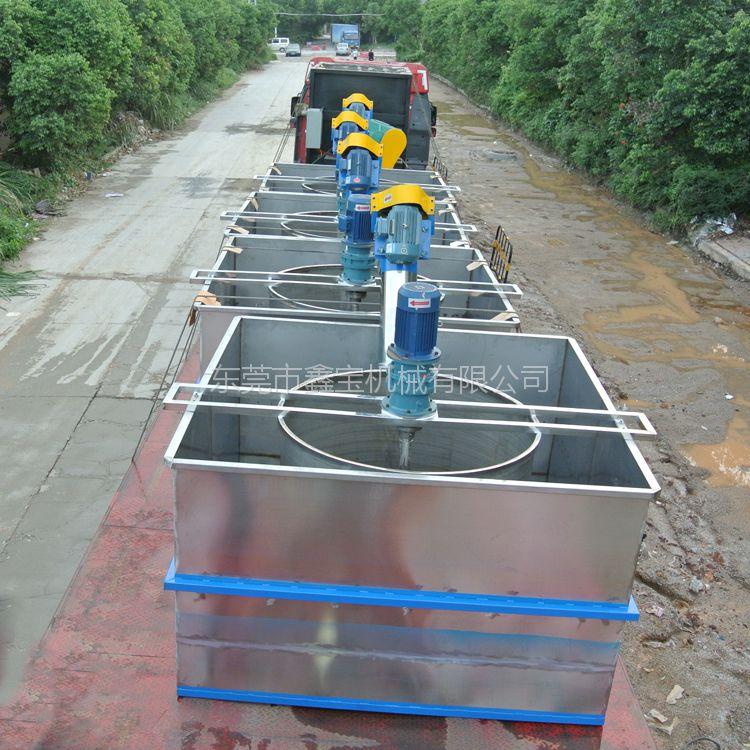 徐州矿泉水瓶片清洗机 小型不锈钢吊篮使用各类沉浮塑料清洗