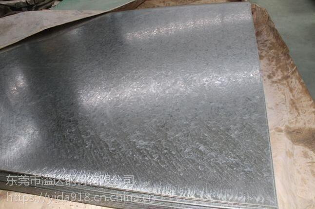 东莞供应DC01+ZE宝钢标准DC01+ZE无花镀锌板产品