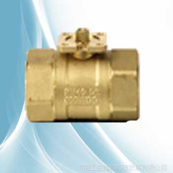 DN20二通黄铜球阀内螺纹VAI61.20
