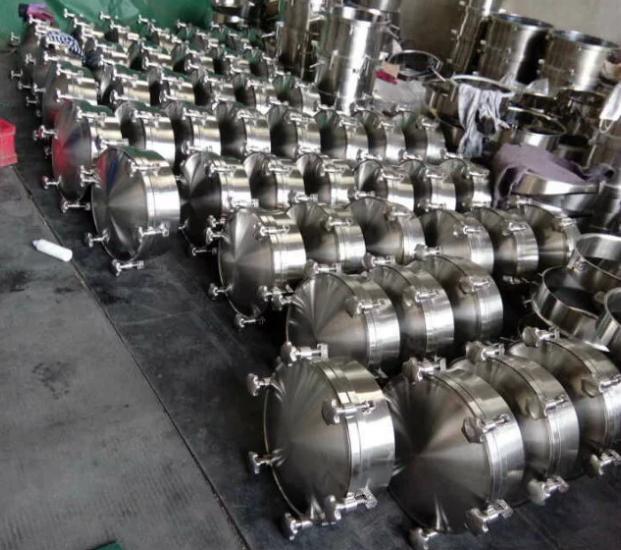 卫生级化工圆形人孔,304不锈钢化工圆形人孔生产厂家