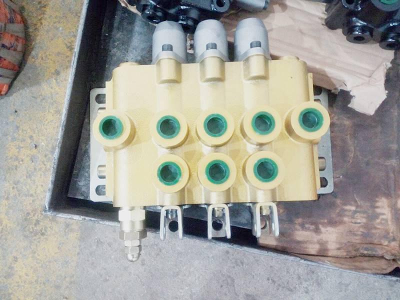 ZS-L118E-2OT液压2联分配器农机多路阀 手动阀 铲车换向阀ZS-L118F-4OT