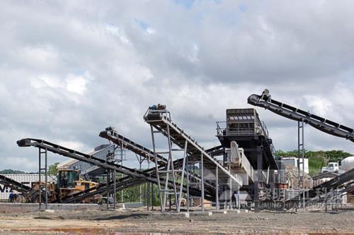 临河硅石矿锤式破碎机结构图
