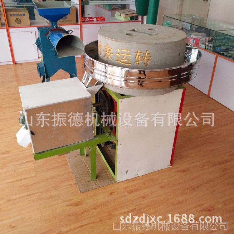 振德牌 五谷杂粮面粉石磨 电动石磨机 多功能石磨面粉机 价格