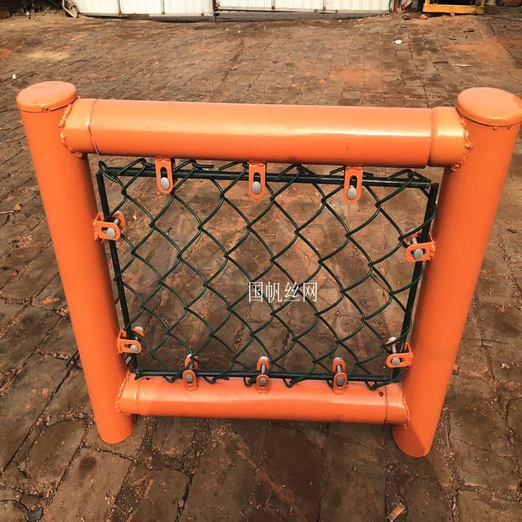 大厂家不锈钢篮球场围网价钱 《国帆》篮球场围网