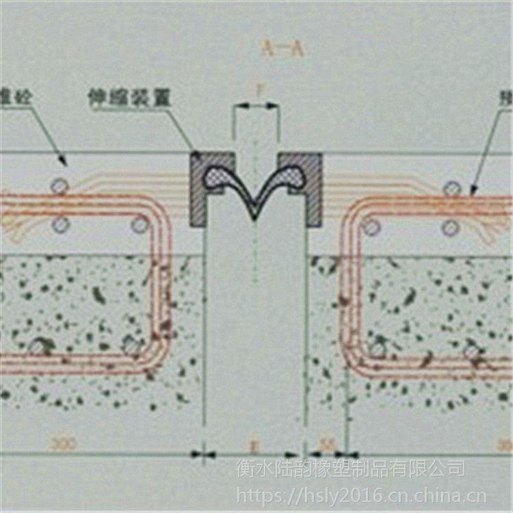 C型单组式桥梁伸缩缝@新洲区单组式伸缩缝@陆韵产品
