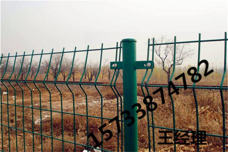 铜川 浸塑 双边护栏 三角折弯护栏网 公路围栏 多重
