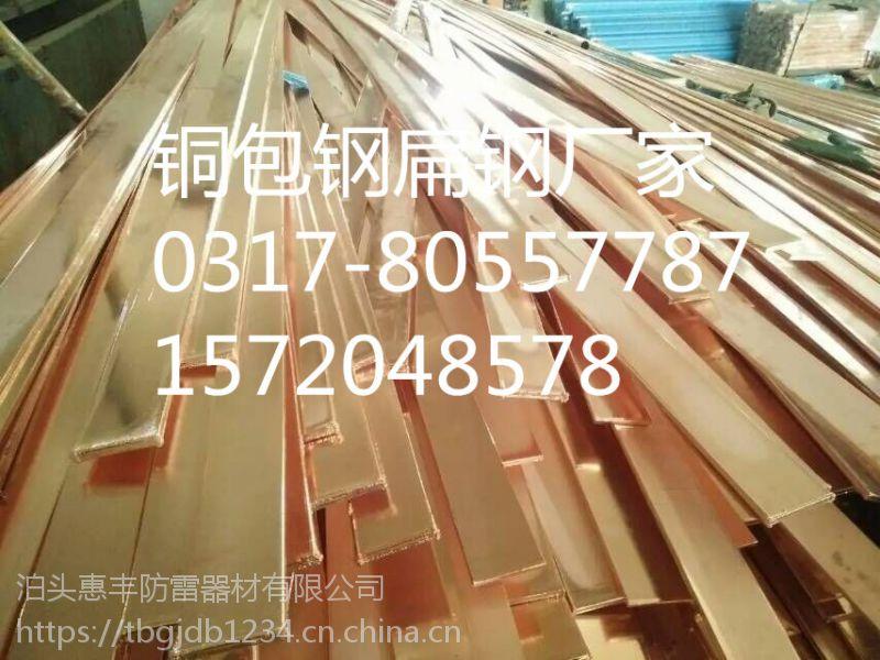 铜包钢接地扁钢 惠丰国标规格 材质