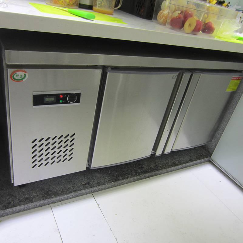 湖北奶茶工作台冰柜用哪个牌子信誉好