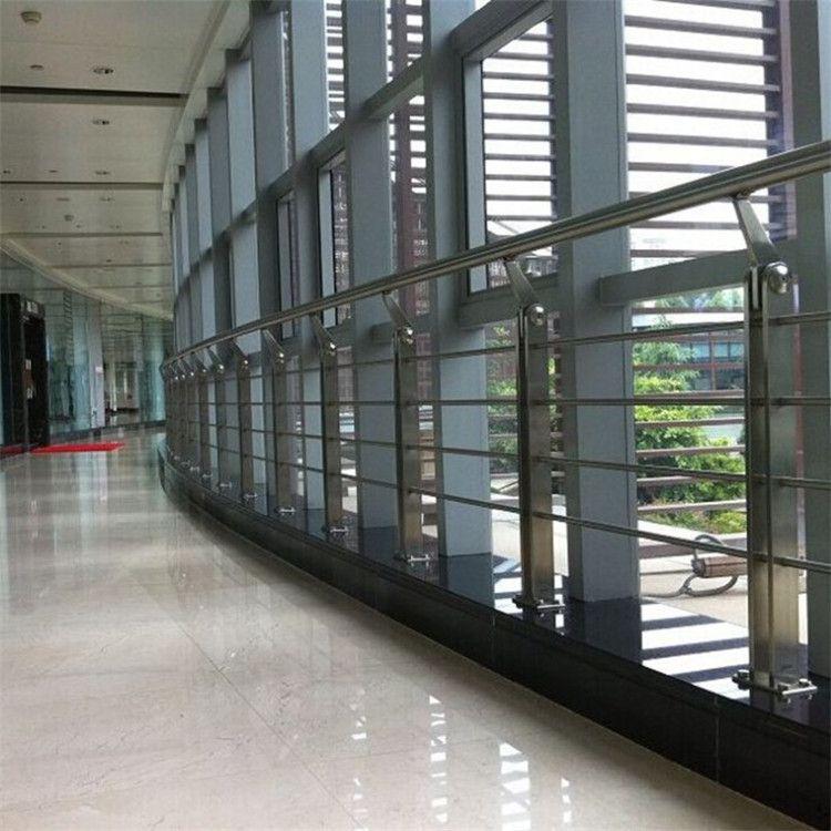 金裕 生产直销 商场公共场合不锈钢楼梯扶手 不锈钢立柱