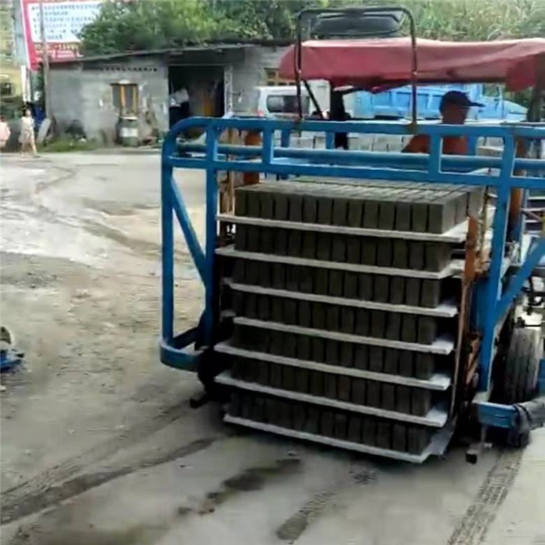 水泥砖运砖车 电瓶叉砖车