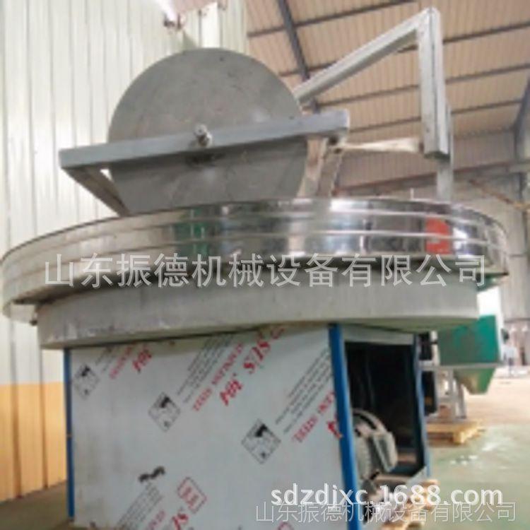 小石碾面粉机 振德供应 手推石碾子 小型石碾磨面机械 厂家直销