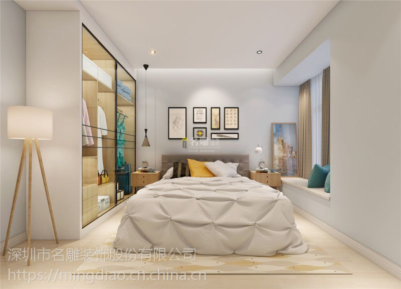 锦东花园220平四居室24万欧式风格设计案例
