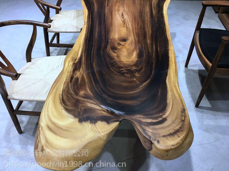 胡桃木茶几实木,徐州云龙区国内不超过10家选用加蓬原料的简约现代实木大板桌茶桌