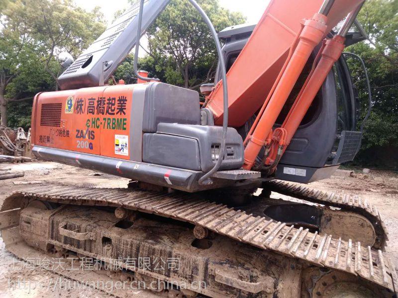 日立ZX200一3G挖掘机 上海二手挖掘机市场质量可靠 挖掘机价格公道