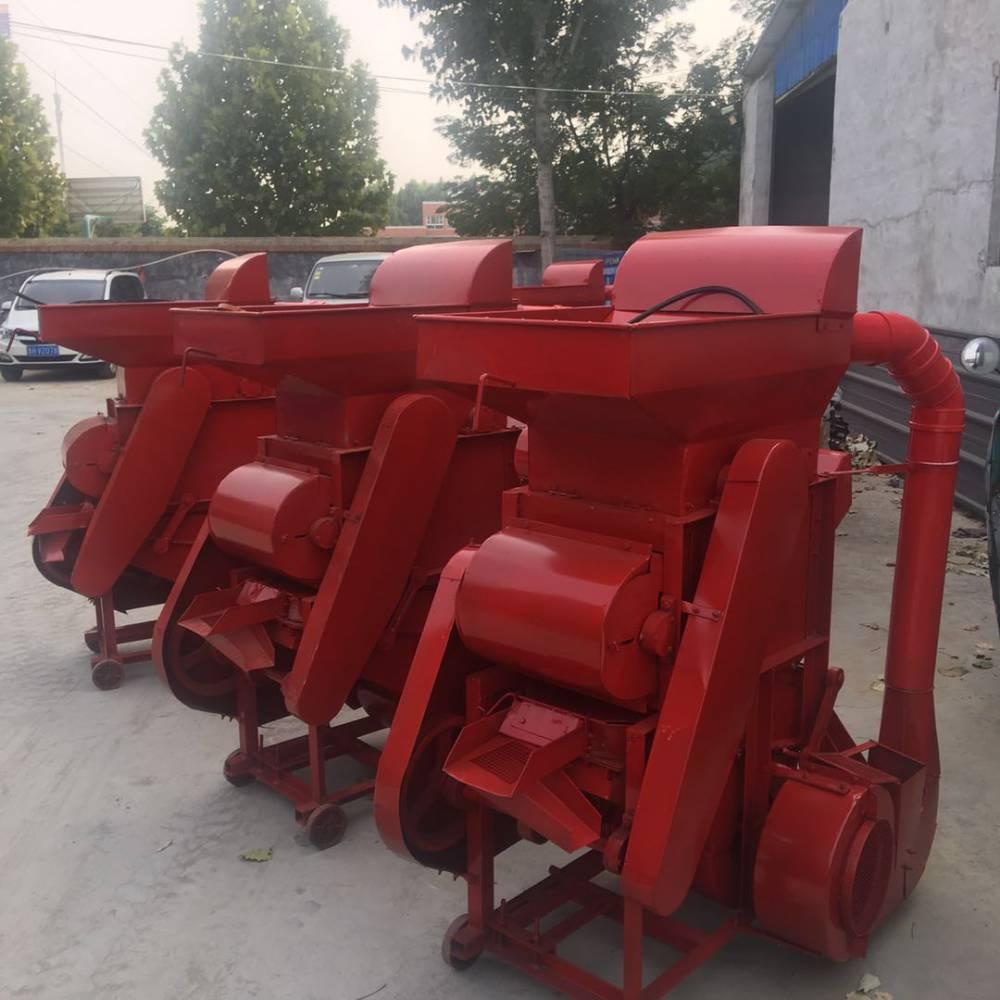 河南省新型长果种子剥壳机 启航牌花生脱壳机 落生扒皮机生产厂家