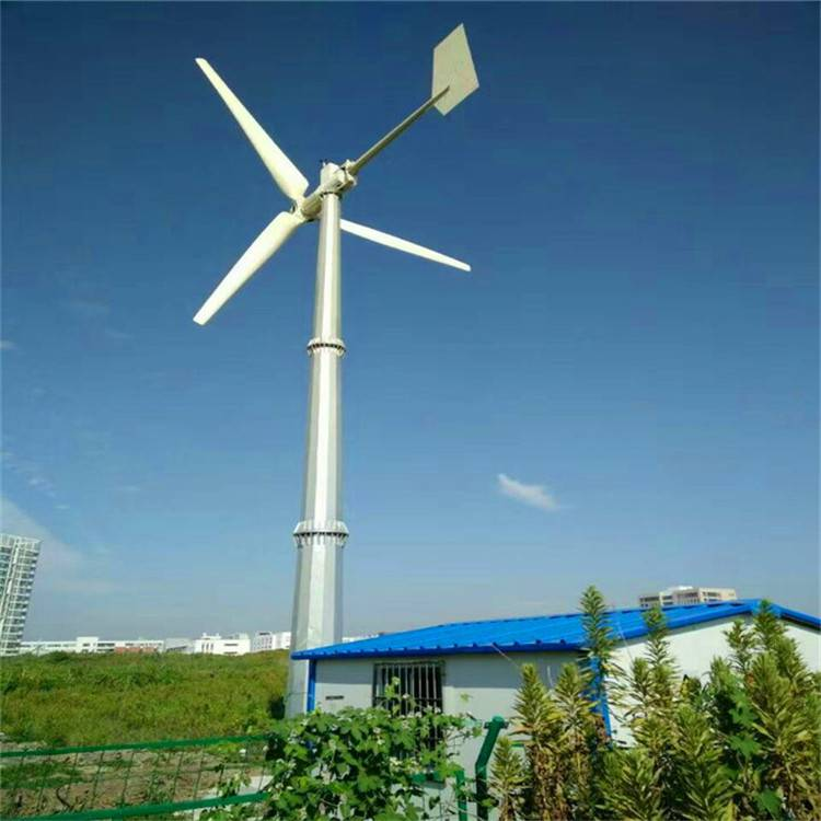 晟成景观用500w 装饰风力发电机 微电风光互补路灯发电机