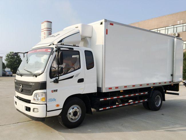 箱长6.8米冷藏车生产厂家