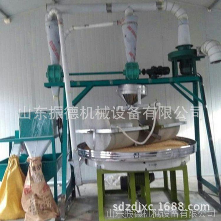 自动水稻谷子石碾子 振德供应小麦玉米面粉石碾 电动石碾价格