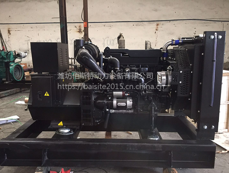 吐鲁番50千瓦潍柴锐动力柴油机发电机组供应 潍柴WP4.1D66E200发动机