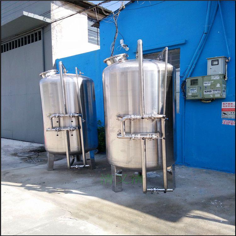 广旗阳朔县污水深度处理设备机械石英砂山泉水预处理过滤器