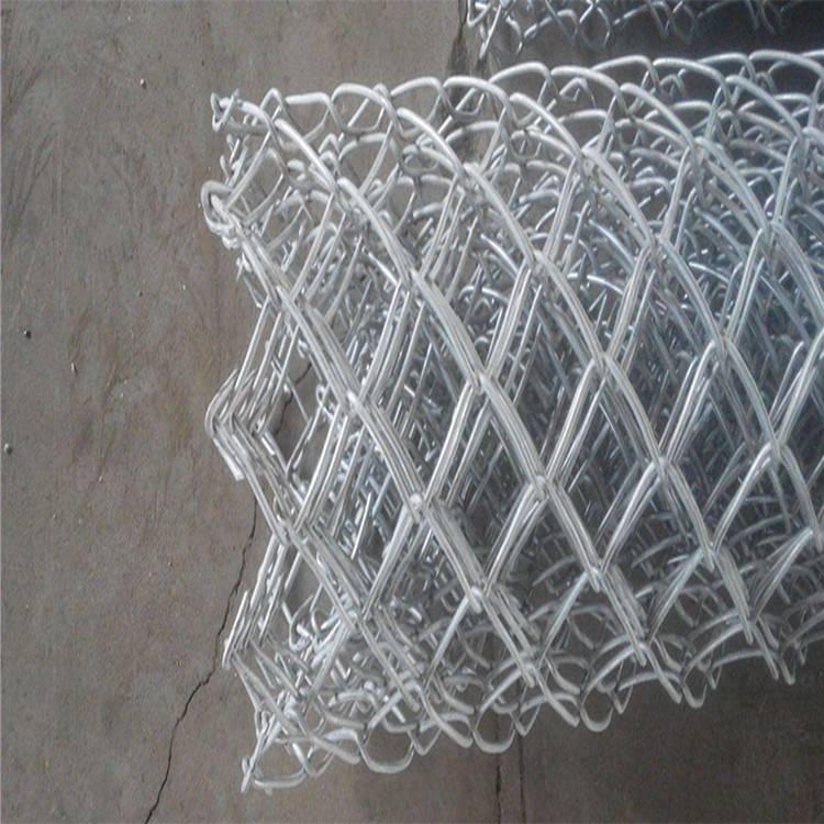 苏州体育场浸塑围栏网——4mm50*50mm勾花网护栏网【按图纸定做】