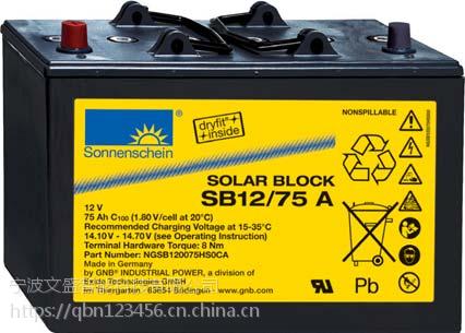 德国阳光蓄电池A704/280供应商免维护胶体蓄电池
