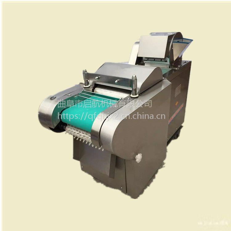 省人工型木瓜切丁机 启航牌单位餐厅用马铃薯切丝机 圆白菜切丝机