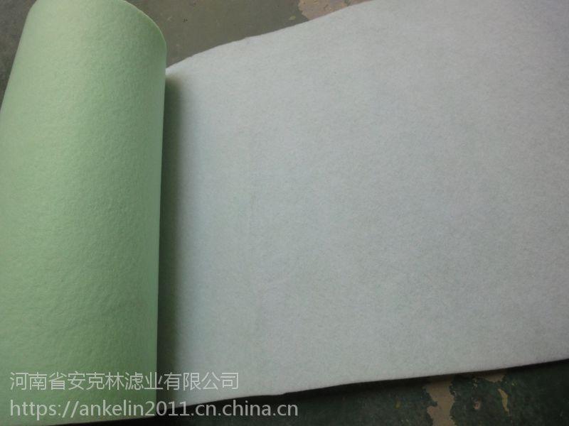 安克林直销F5中效袋式过滤器滤料绿白过滤棉风机除尘袋过滤棉