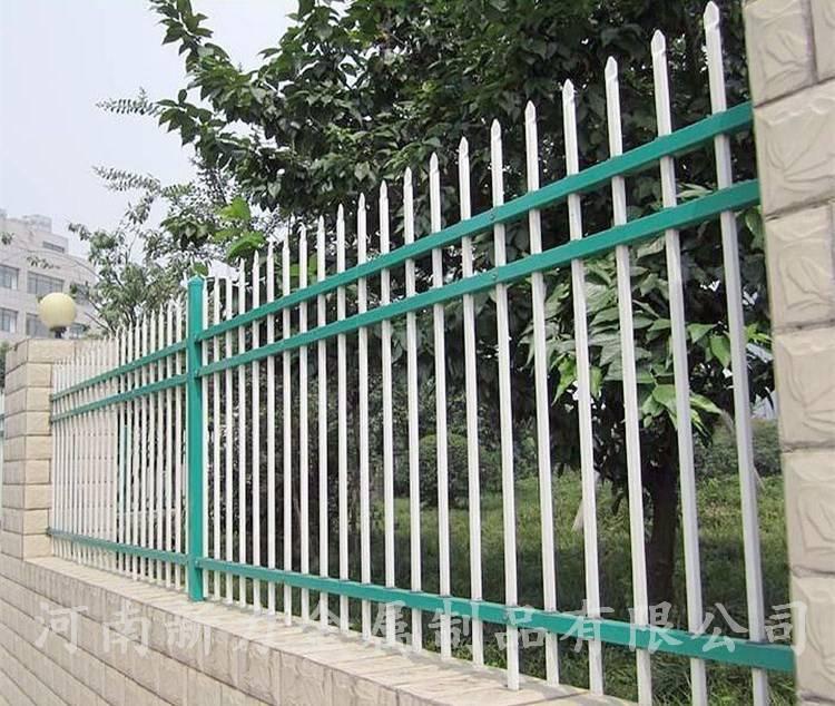 焦作济源地区直供 户外锌钢庭院围墙护栏 小区建筑钢材围墙栅栏 锌钢围栏 河南新力