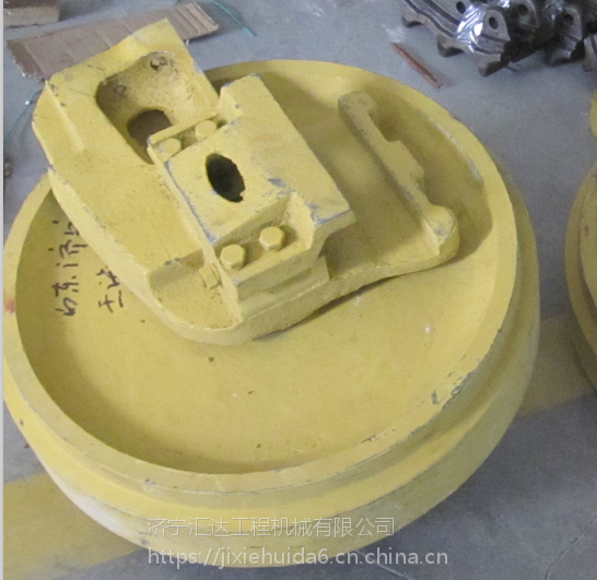泉州小松PC200-8引导轮 小松挖机底盘件大全 济宁汇达工程机械